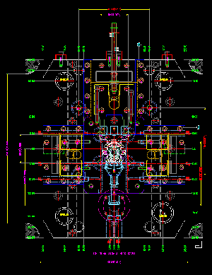 mold drawing 2D-1