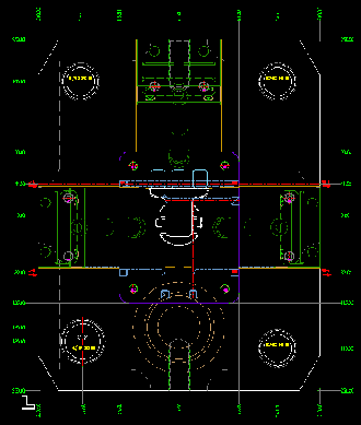 mold drawing 2D-2