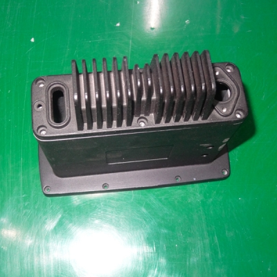 Aluminum heat sink die cast...