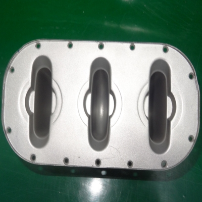Aluminum die casting heat sink assembly parts