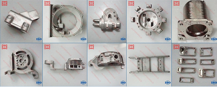 aluminum alloy die casting mold security camera parts factory