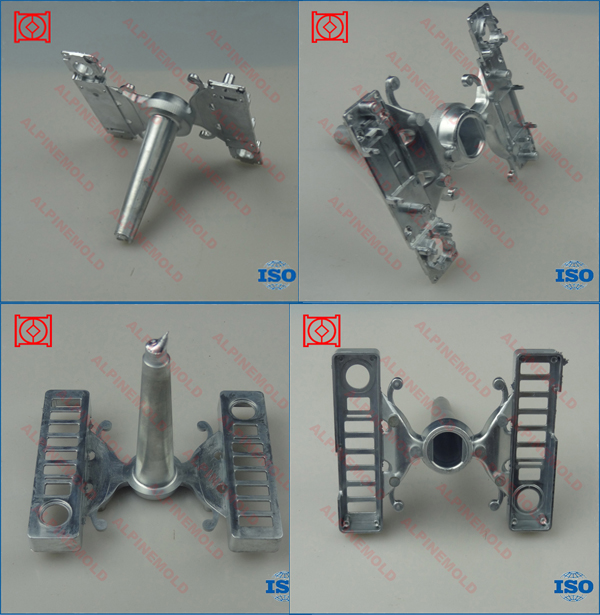 zinc die casting mold making electronic door locks